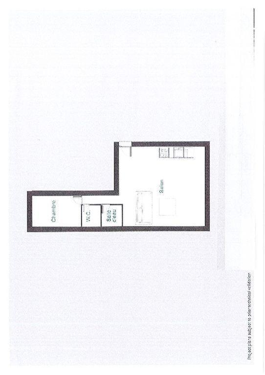 Appartement à vendre 2 59m2 à Paris 15 plan-1