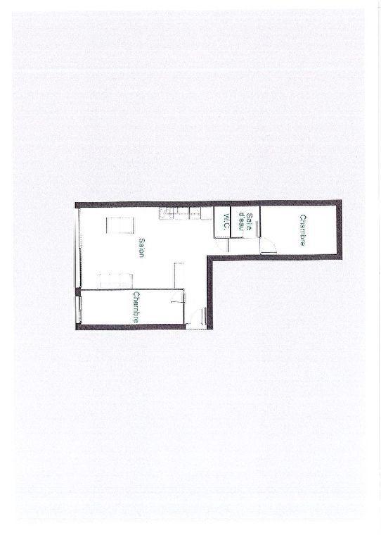 Appartement à vendre 2 59m2 à Paris 15 plan-2