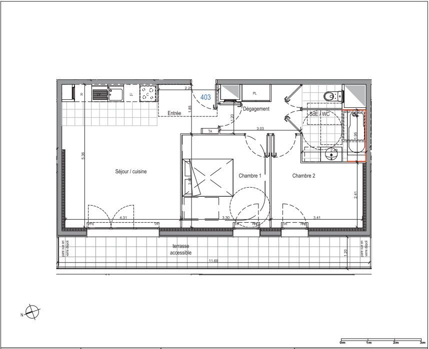 Appartement à louer 3 58.02m2 à Champigny-sur-Marne vignette-8
