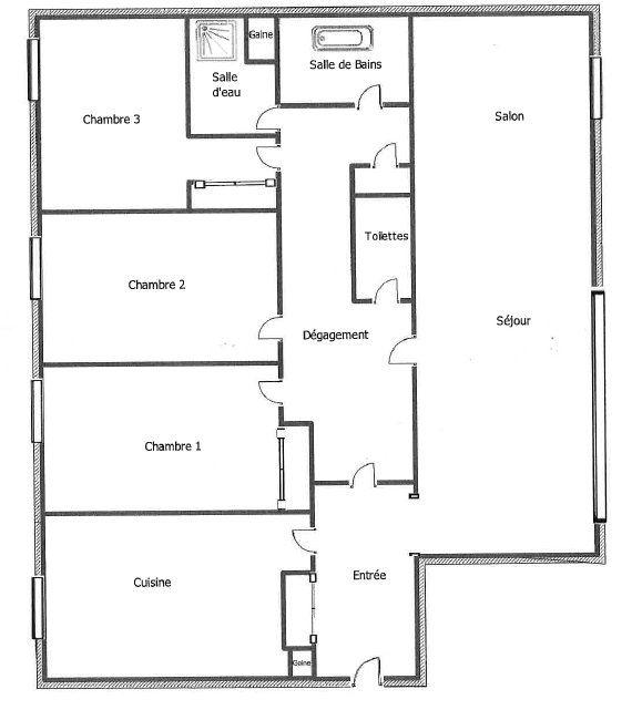 Appartement à vendre 5 110.11m2 à Le Perreux-sur-Marne plan-1