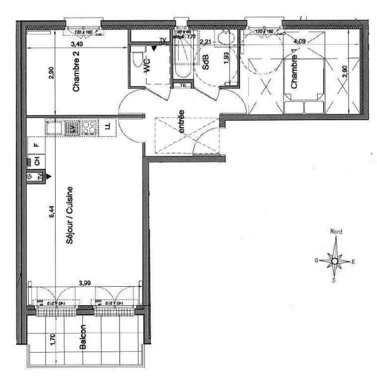 Appartement à vendre 3 60.35m2 à Le Perreux-sur-Marne vignette-5