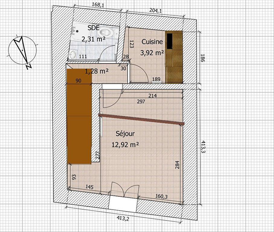 Appartement à louer 2 24.54m2 à Fleury-en-Bière vignette-11