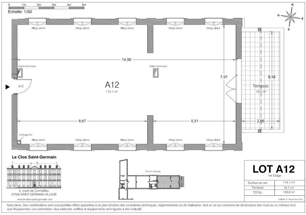 Appartement à vendre 4 114m2 à Saint-Germain-Village vignette-4