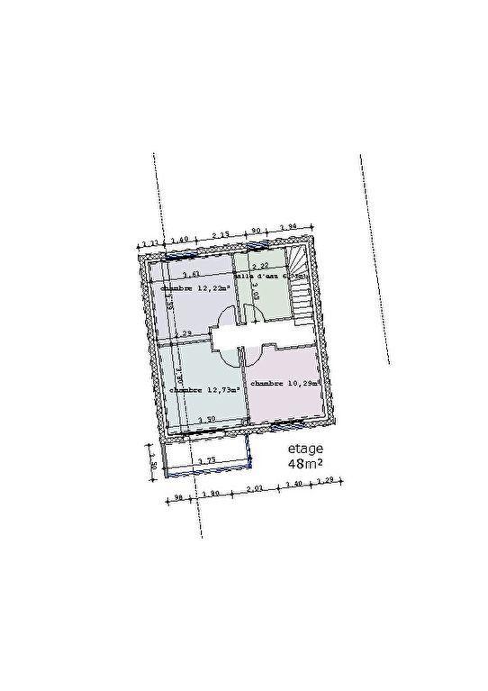 Maison à vendre 4 103m2 à Fublaines vignette-3