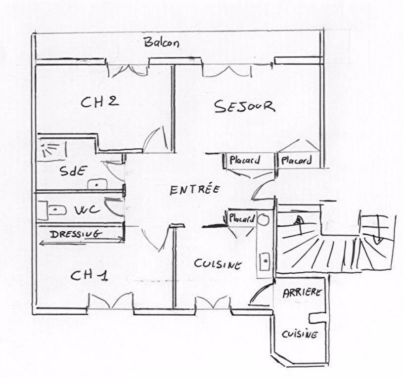 Appartement à louer 3 55.13m2 à Tours vignette-8