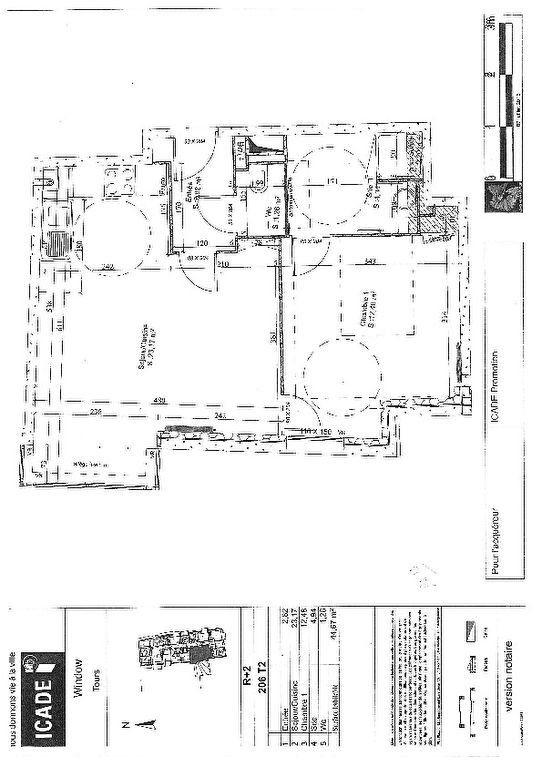 Appartement à louer 2 44.67m2 à Tours vignette-5