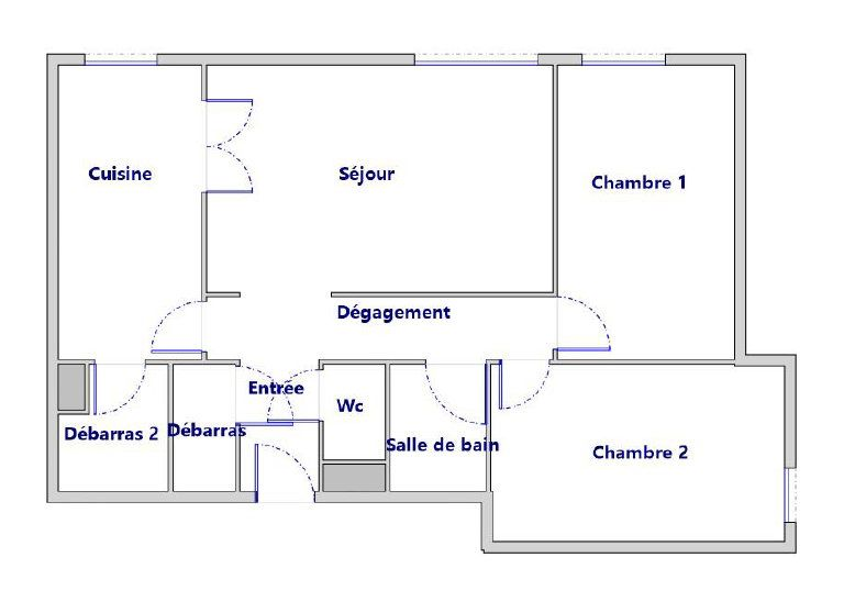 Appartement à vendre 3 66.18m2 à Tours vignette-5