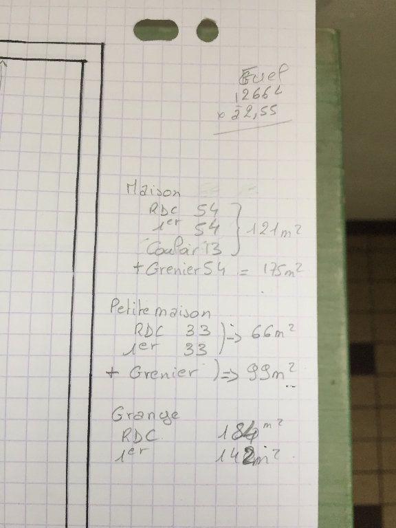 Maison à vendre 6 155.14m2 à Aubepierre-sur-Aube plan-1
