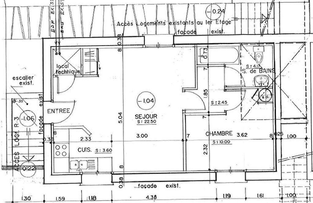 Appartement à louer 2 42.72m2 à Massy vignette-6
