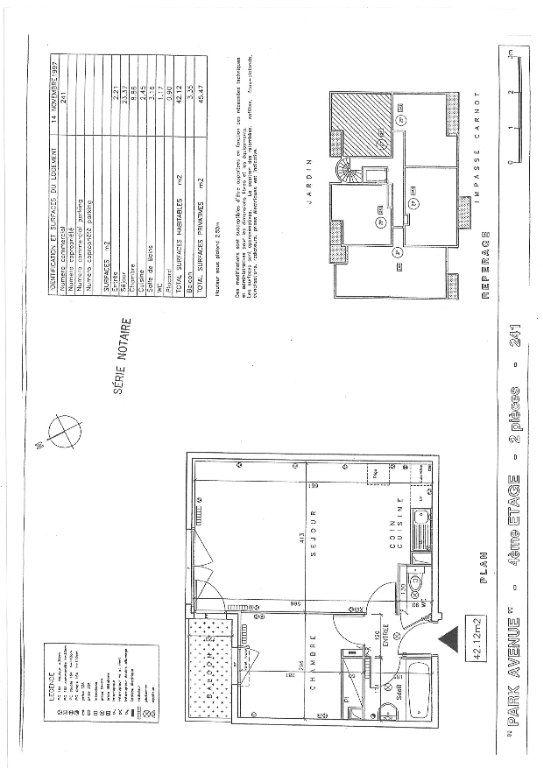 Appartement à louer 2 42.12m2 à Massy vignette-5