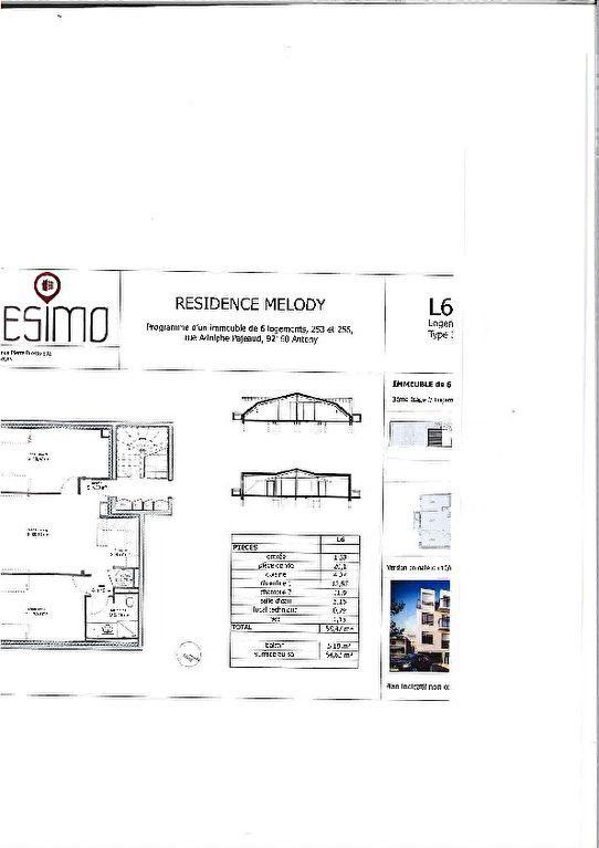 Appartement à louer 3 58.47m2 à Antony vignette-8