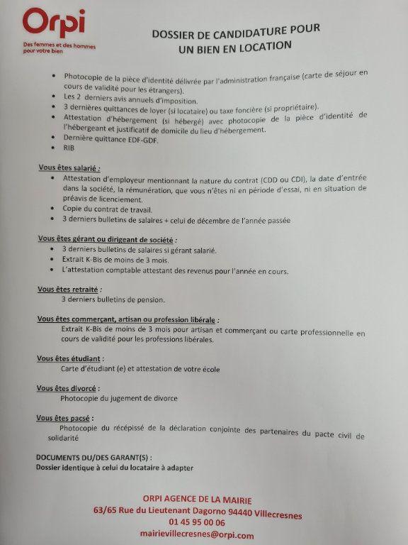 Appartement à louer 1 28.29m2 à Villecresnes vignette-2