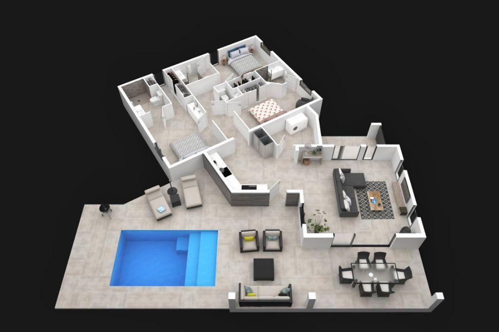 Maison à vendre 4 124.5m2 à Saint-François vignette-3