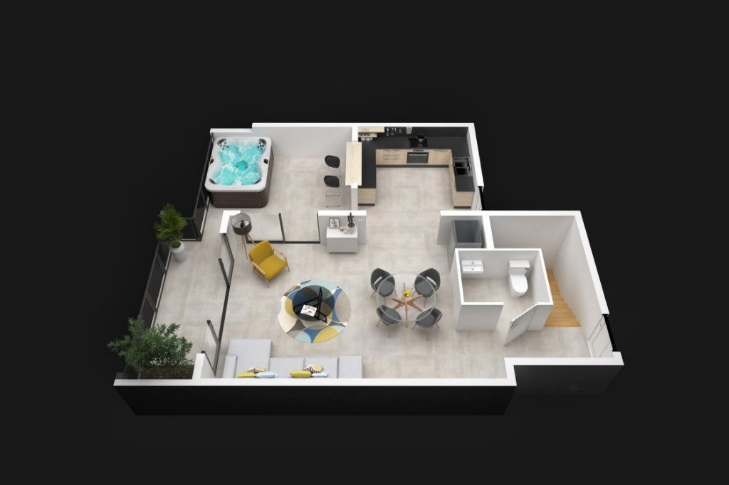 Appartement à vendre 3 114.8m2 à Saint-François vignette-3