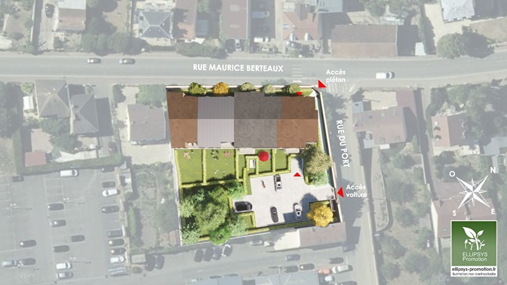 Appartement à vendre 2 45.7m2 à Le Mesnil-le-Roi vignette-4