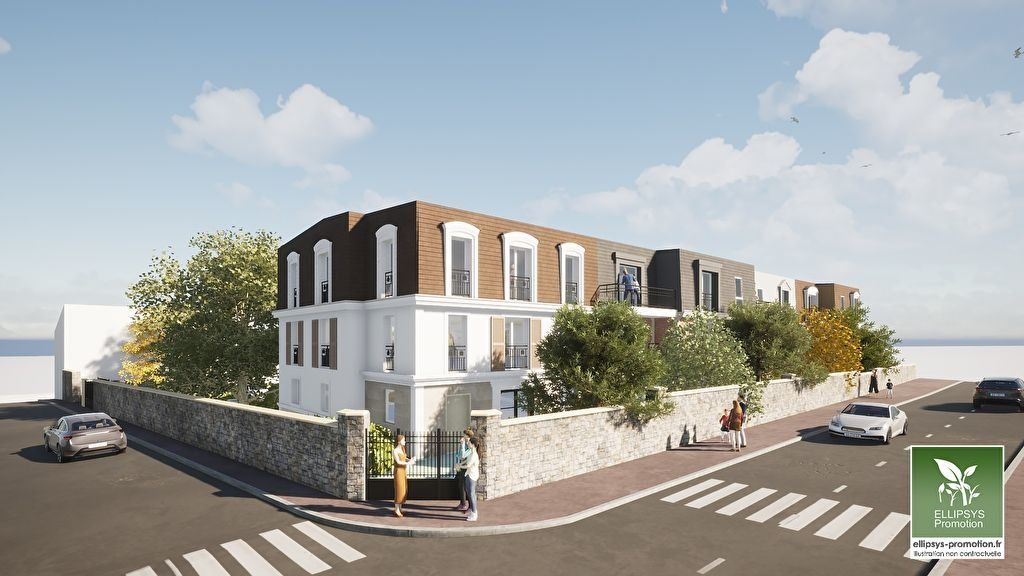 Appartement à vendre 2 43.3m2 à Le Mesnil-le-Roi vignette-1