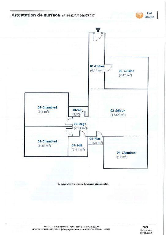 Appartement à louer 4 67.4m2 à Paris 17 vignette-5