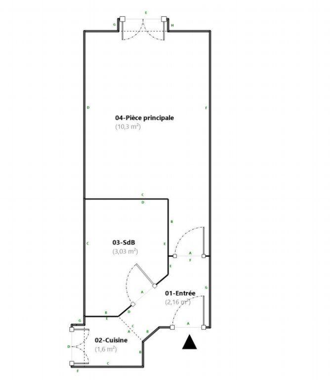Appartement à vendre 1 17.09m2 à Paris 18 vignette-7