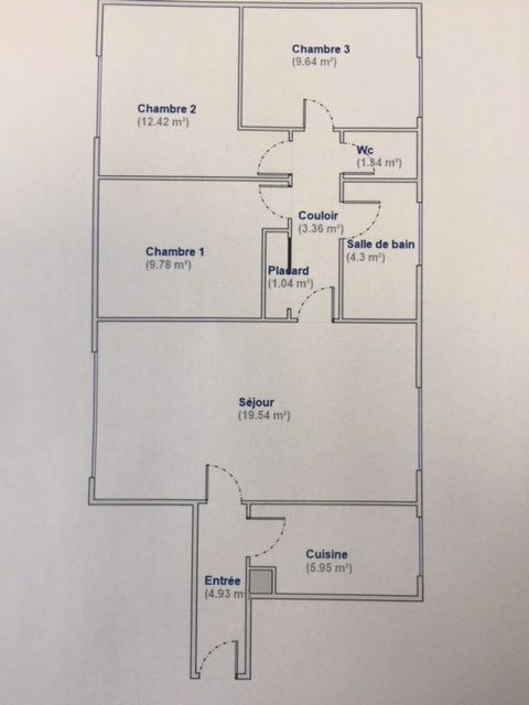 Appartement à louer 4 72m2 à Paris 18 vignette-15