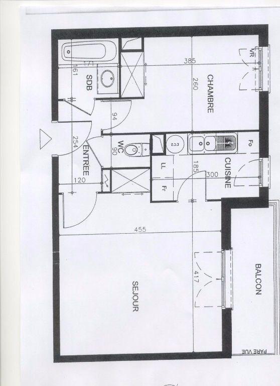 Appartement à louer 2 43m2 à Montévrain vignette-5