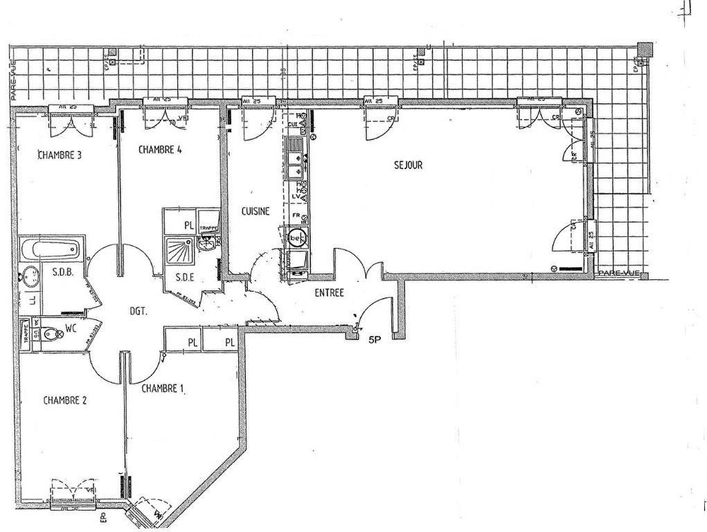Appartement à vendre 5 104m2 à Carrières-sous-Poissy vignette-3