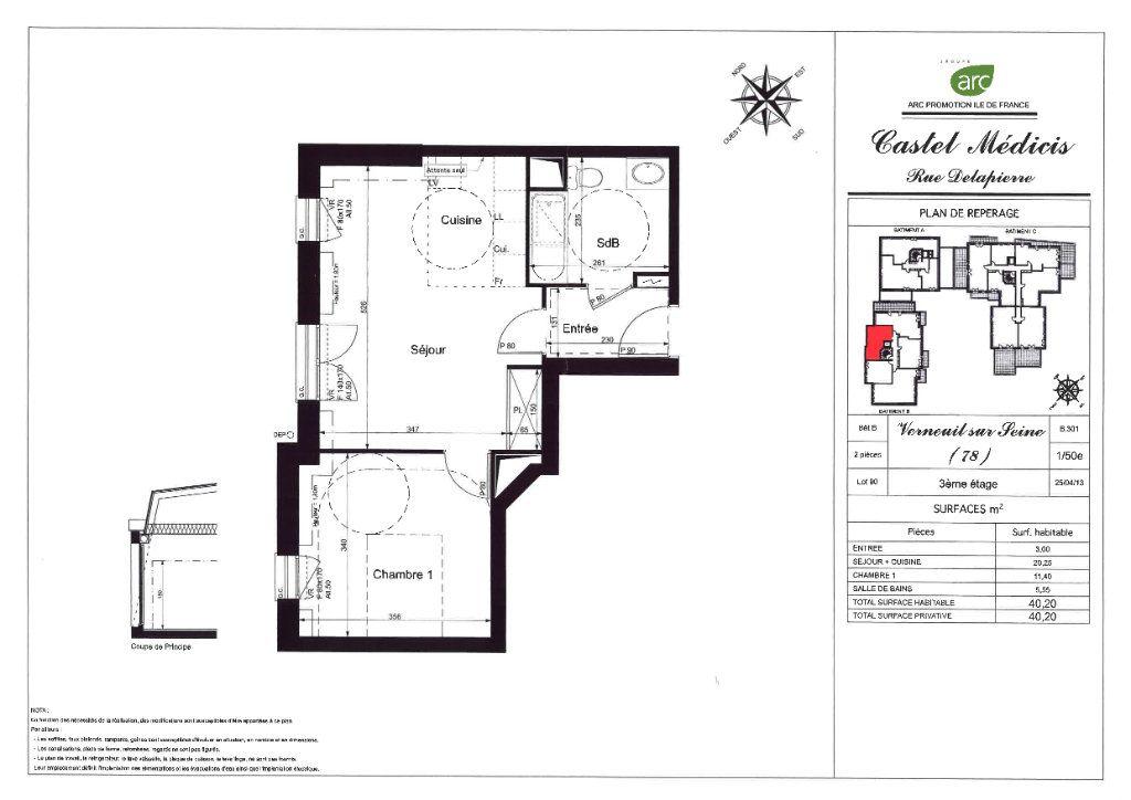 Appartement à louer 2 40.2m2 à Verneuil-sur-Seine vignette-8