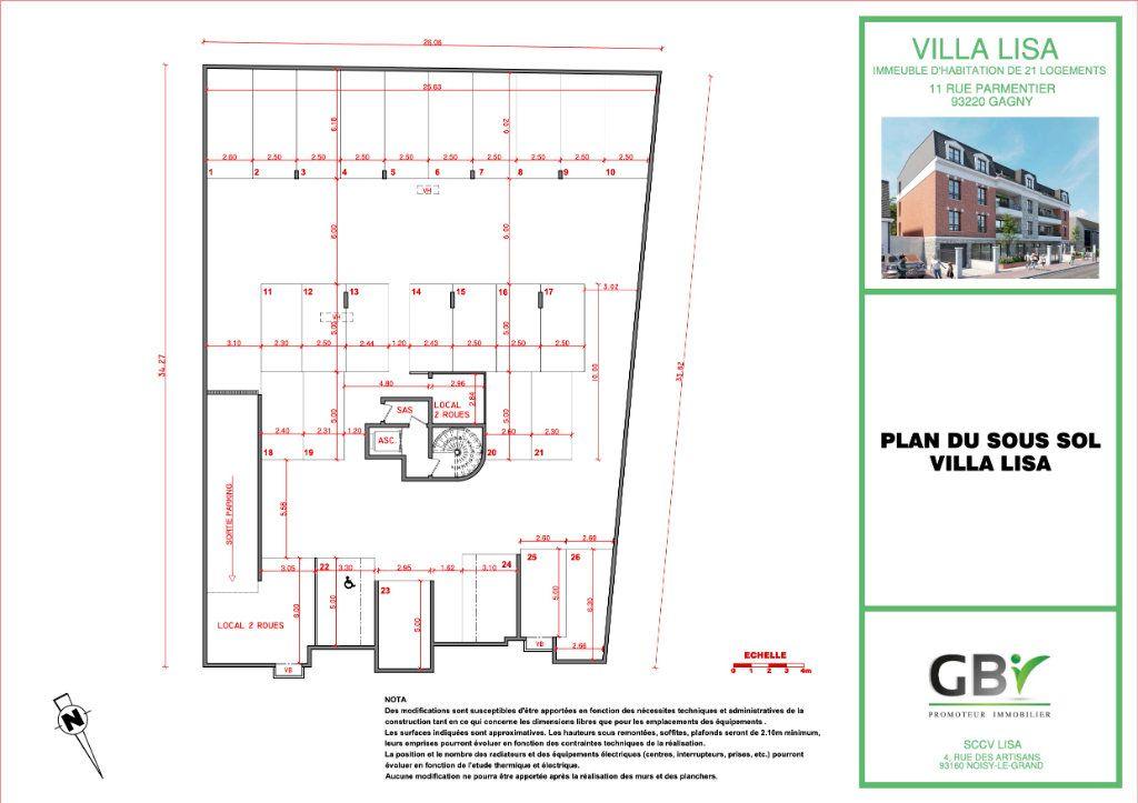 Appartement à vendre 3 60.4m2 à Gagny vignette-5