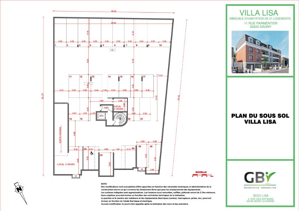 Appartement à vendre 4 73.1m2 à Gagny vignette-5