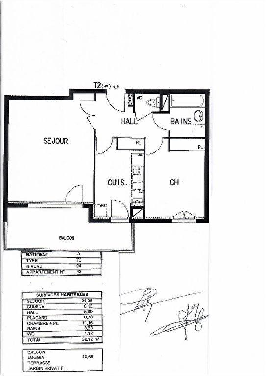 Appartement à vendre 2 52.01m2 à Villeurbanne vignette-11