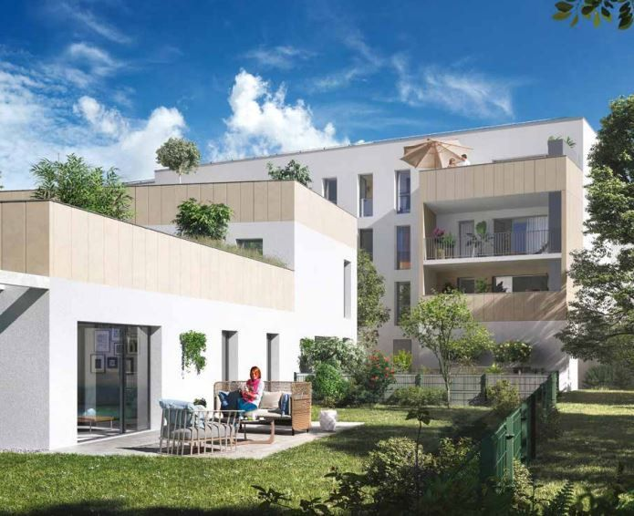 Appartement à vendre 2 43.4m2 à Bordeaux vignette-2