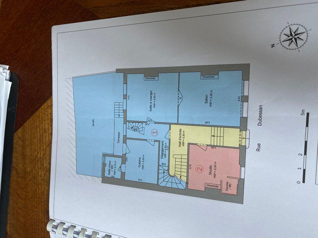 Appartement à vendre 2 36.1m2 à Bordeaux plan-1