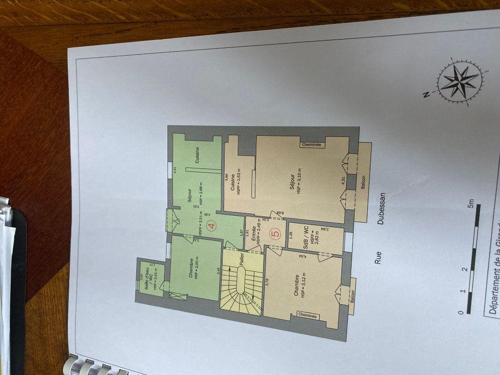 Appartement à vendre 2 36.1m2 à Bordeaux plan-2