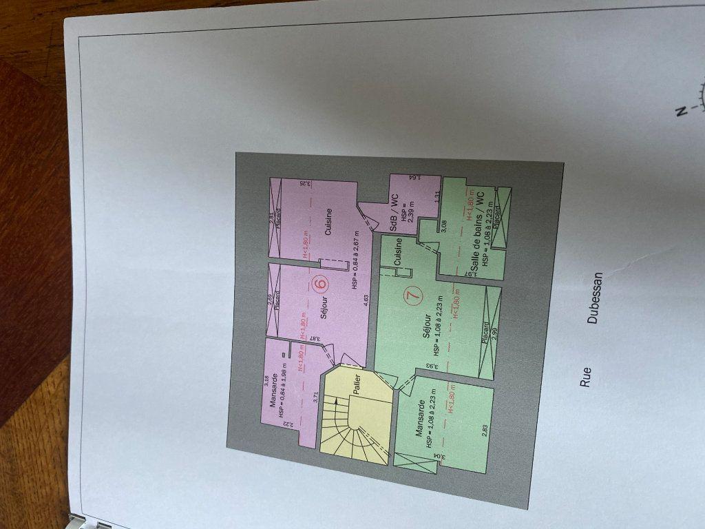 Appartement à vendre 2 36.1m2 à Bordeaux plan-3