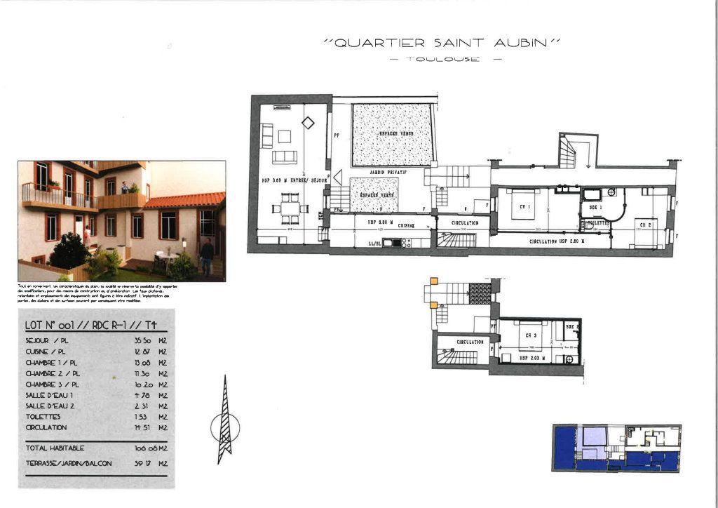 Appartement à vendre 4 106.08m2 à Toulouse vignette-2