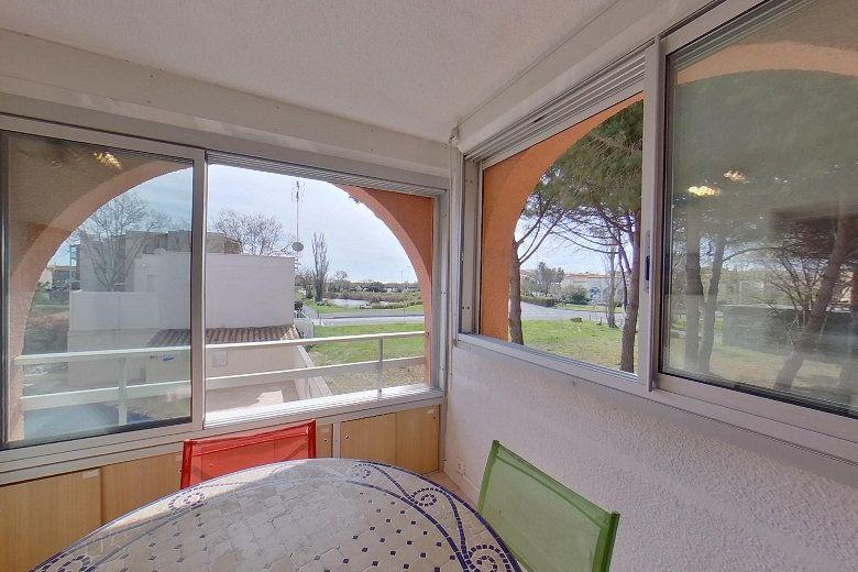 Appartement à vendre 3 24.73m2 à Le Cap d'Agde - Agde vignette-2