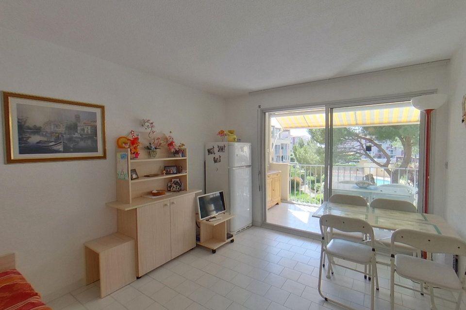 Appartement à vendre 3 28.04m2 à Le Cap d'Agde - Agde vignette-2