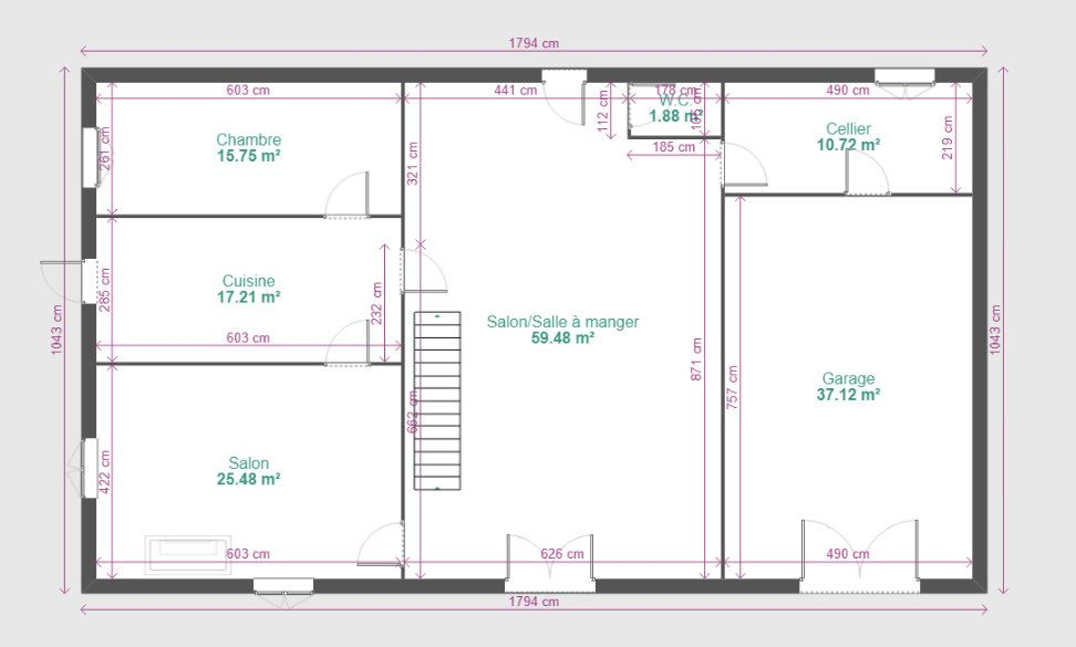 Maison à vendre 11 291m2 à Bardos vignette-9