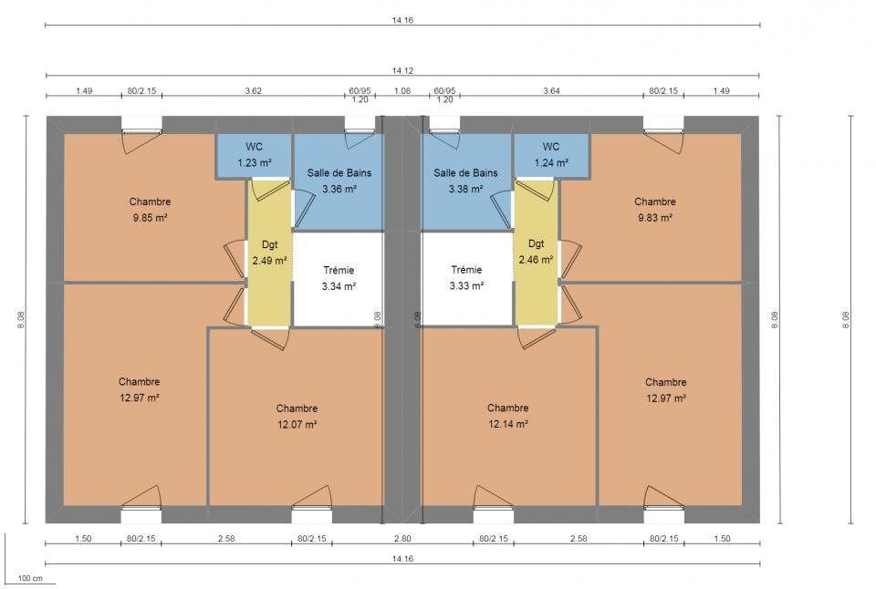 Maison à vendre 4 84m2 à La Seyne-sur-Mer vignette-3