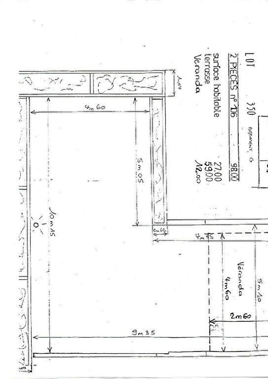 Appartement à vendre 2 25.74m2 à Bandol plan-3