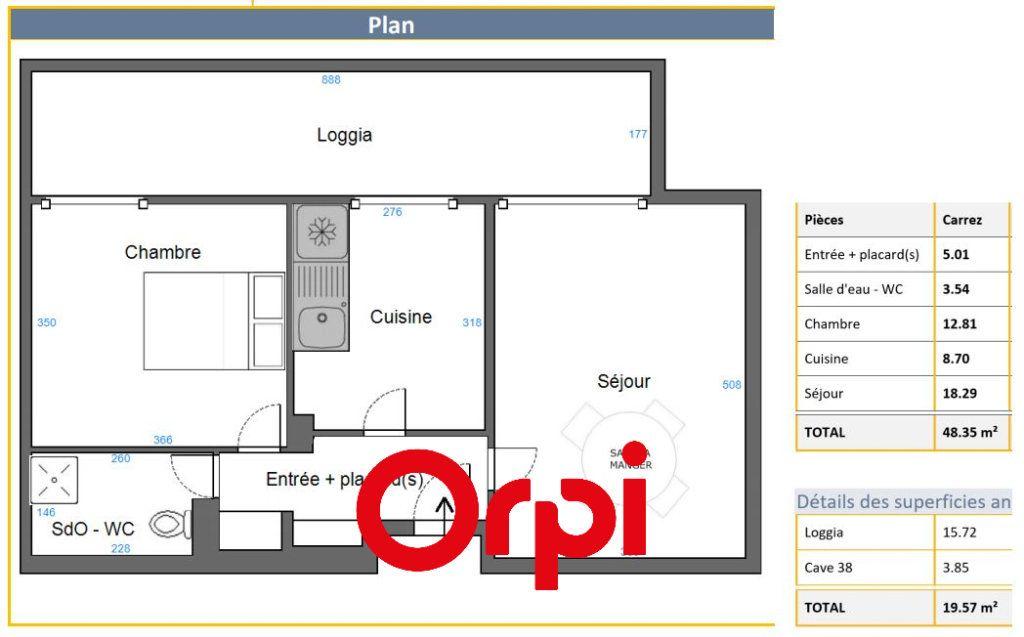 Appartement à vendre 2 48.35m2 à Bandol vignette-10