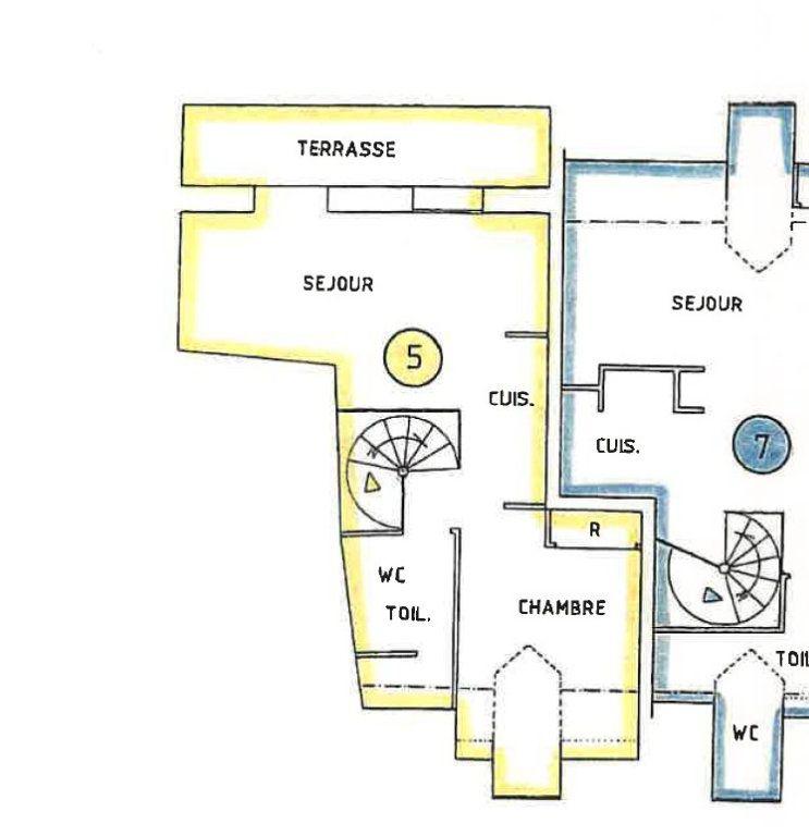 Appartement à vendre 2 30m2 à Bagnols-les-Bains plan-1