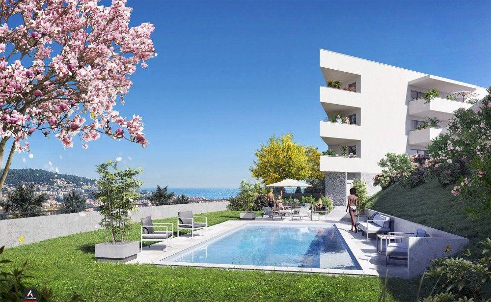 Appartement à vendre 2 43.6m2 à Nice vignette-2