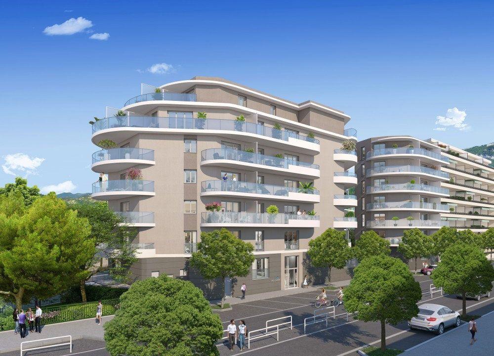 Appartement à vendre 2 45.26m2 à Nice vignette-2