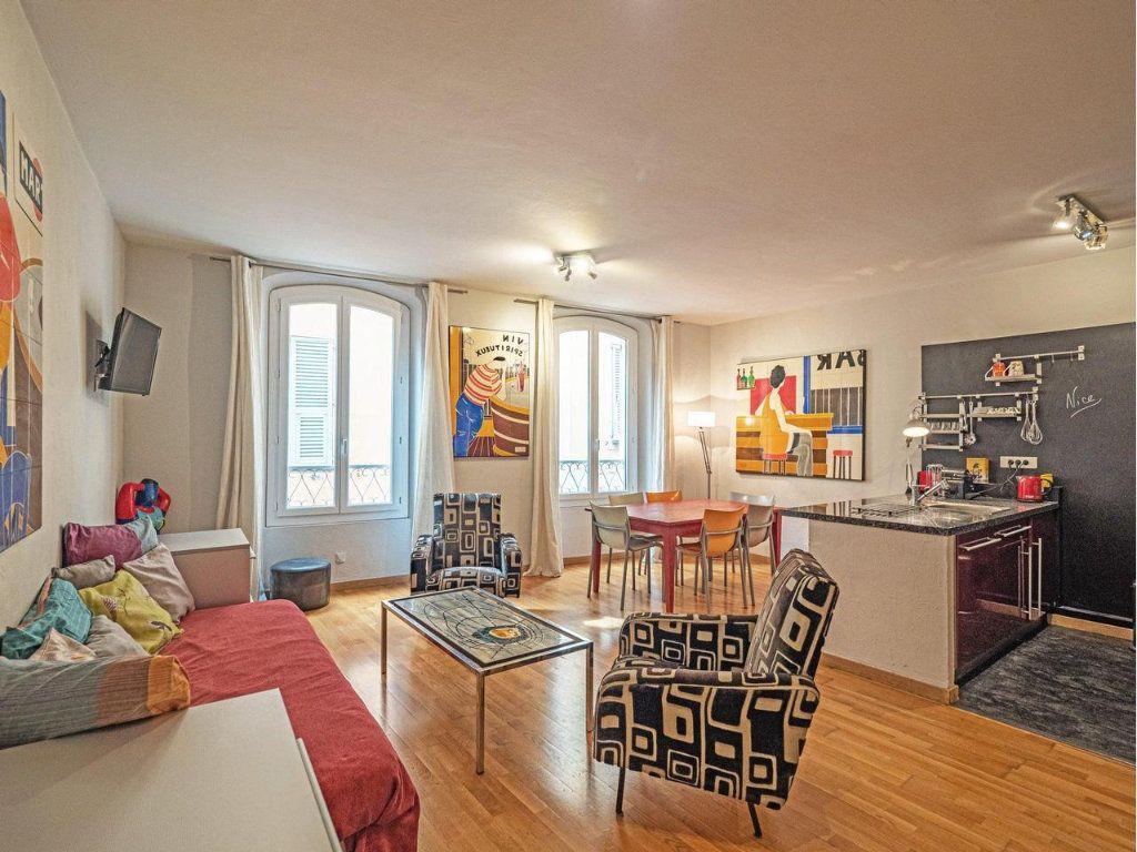 Appartement à vendre 2 49m2 à Nice vignette-1