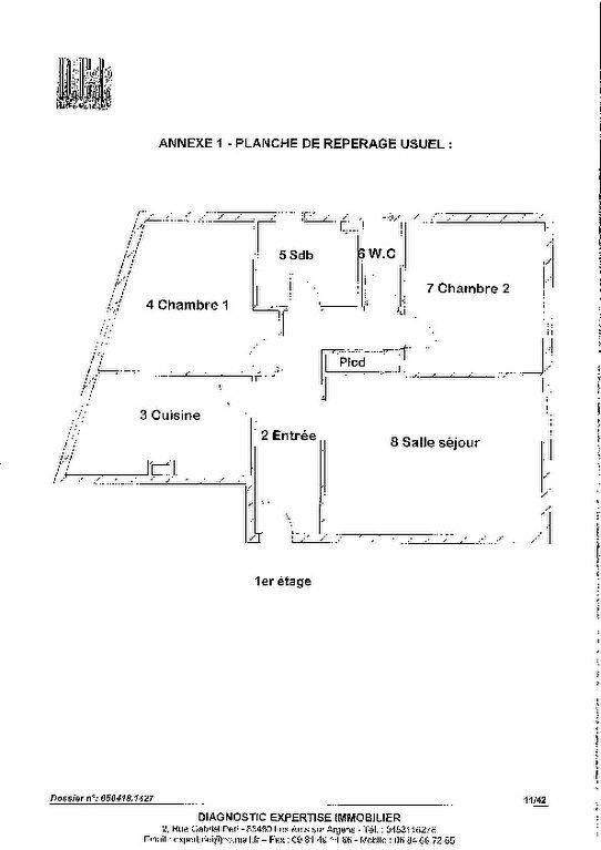Appartement à vendre 3 55m2 à Nice plan-1