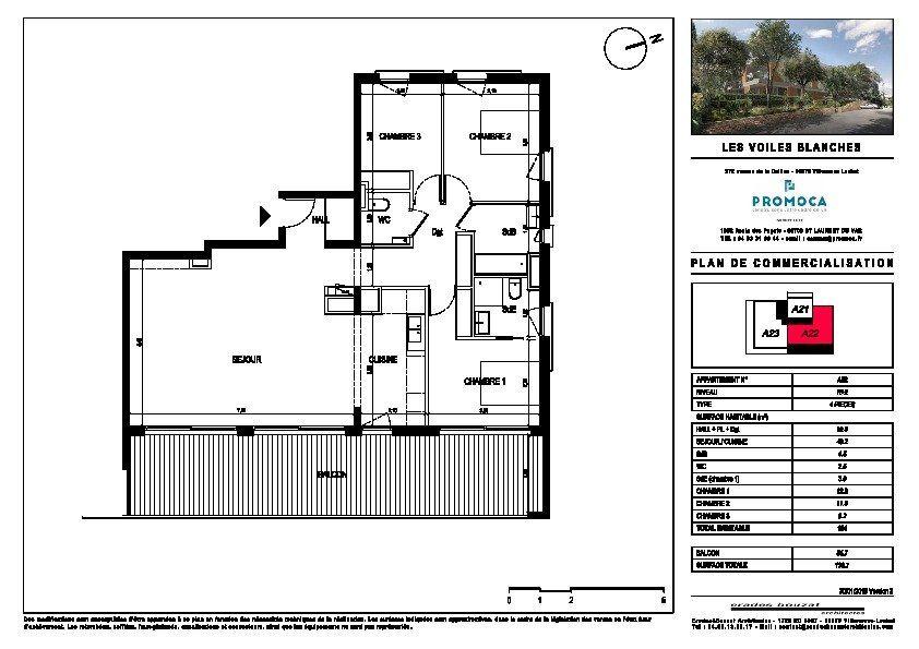 Appartement à vendre 4 104m2 à Villeneuve-Loubet vignette-2