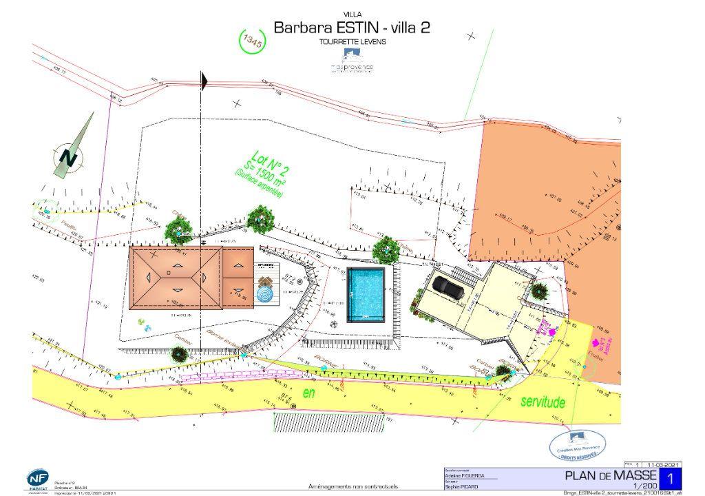 Terrain à vendre 0 1500m2 à Tourrette-Levens vignette-6