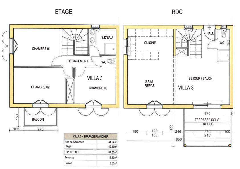 Maison à louer 4 95m2 à Cagnes-sur-Mer vignette-2