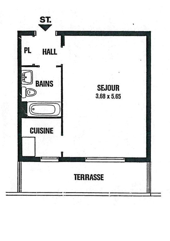 Appartement à louer 1 30m2 à Cagnes-sur-Mer vignette-7