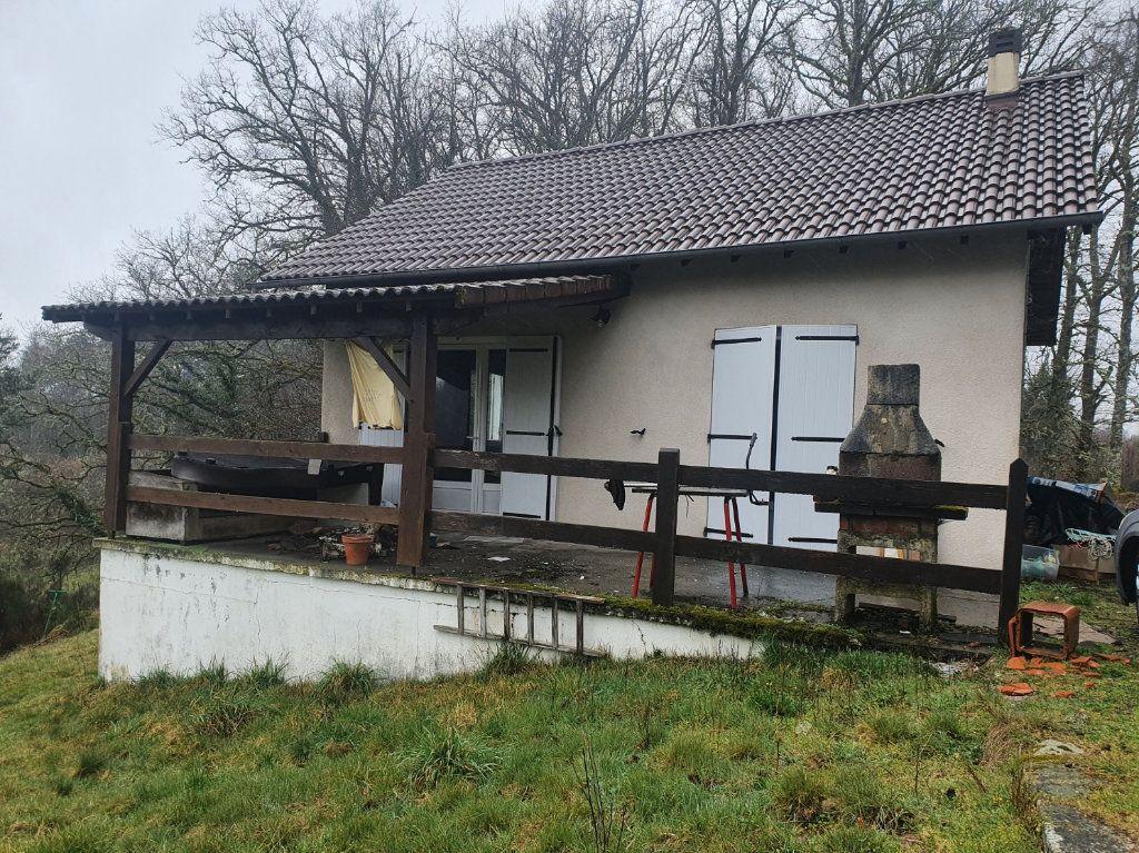 Maison à vendre 2 56m2 à Saint-Martial-de-Gimel vignette-1